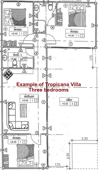 Blueprint Tropicana Villa Three Bedrooms 2