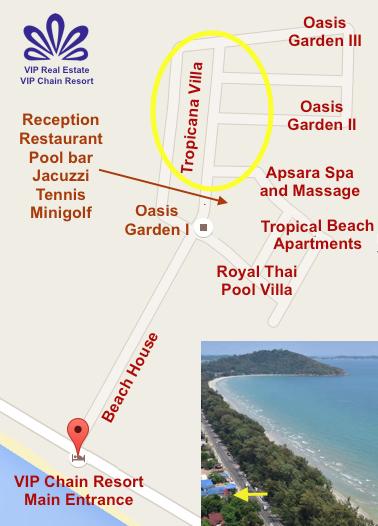 VIP Chain Resort Map RAW TROPICANA